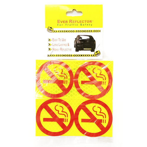 "1""x1"" No Smoking Label 4PCS"