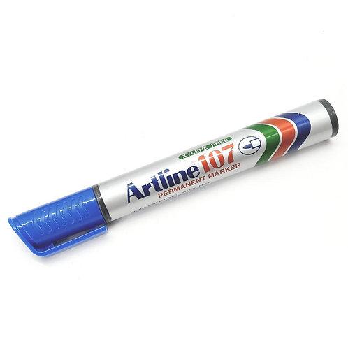 Artline EK-107 Blue Permanent Marker 1.5mm