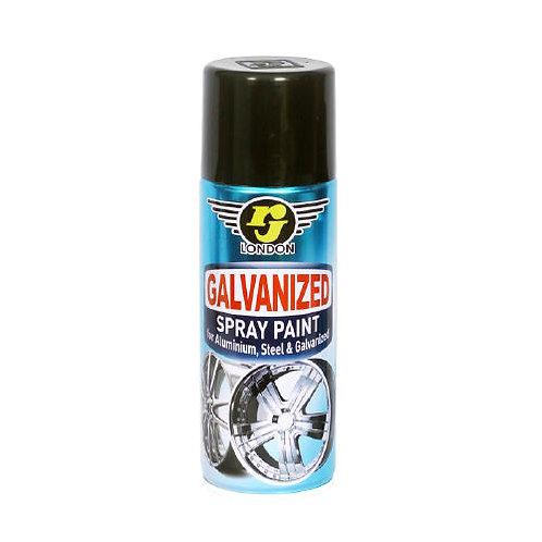 RJ London Galvanized Spray Paint 400CC (Metallic Silver)