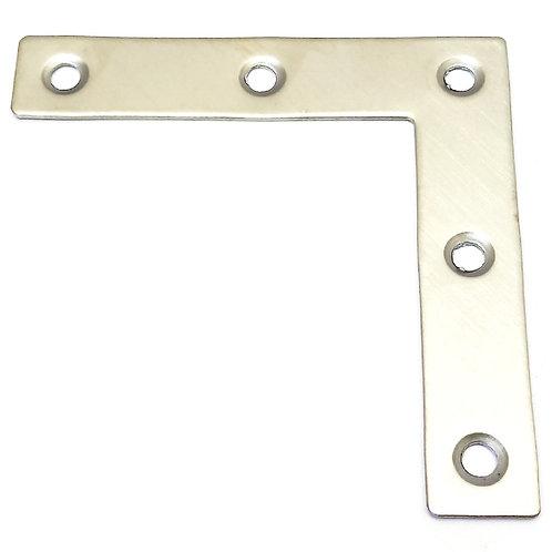 SS L 80x80x16x1.5MM Flat Bracket 5PCS (Pack)