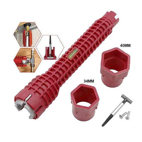 6429 8-IN-1 Faucet and Sink Multi-Purpose Installer Tool