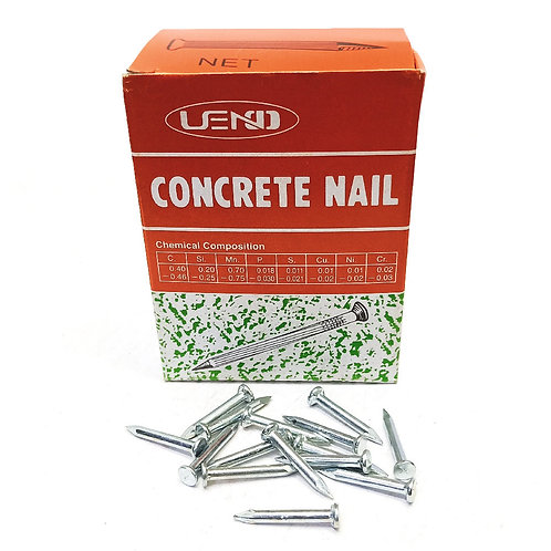 White Concrete Nail 1''x12mm (Taiwan)