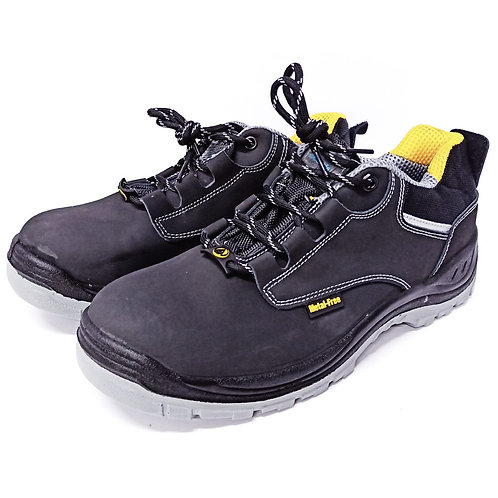 AcesafeT STOUT (19608A) Low Cut Lace Up Composite Toe-Cap Anti-Perforation Board Metal-Free ESD Safety Shoes (Front)