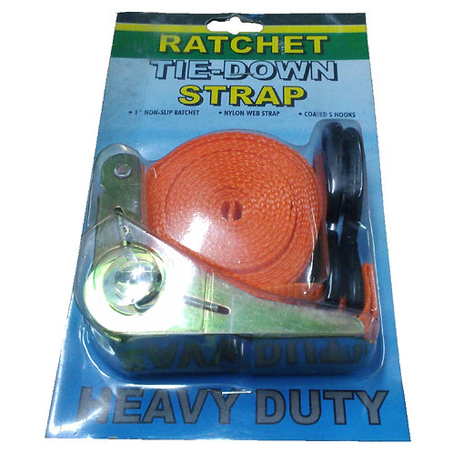 1''x15FT Ratchet Tie Down