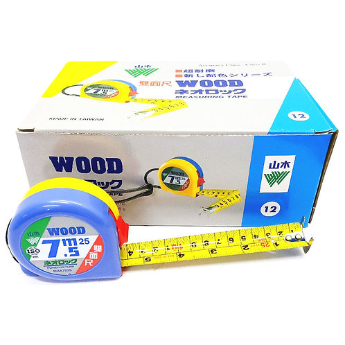7.5mX25mm DF Wood Power Measuring Tape #7525