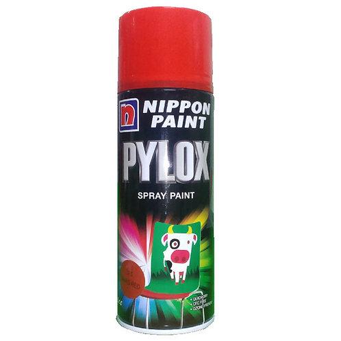 Nippon Paint Pylox Spray Paint 15 Mars Red 400CC