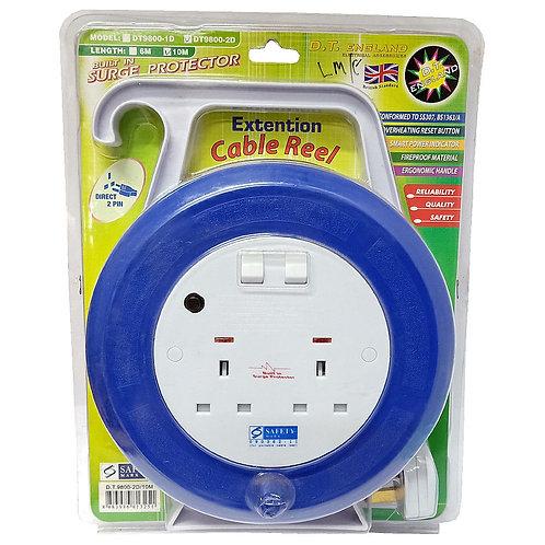 10M Cable Reel DT9800-2D DT-0083 D.T. England