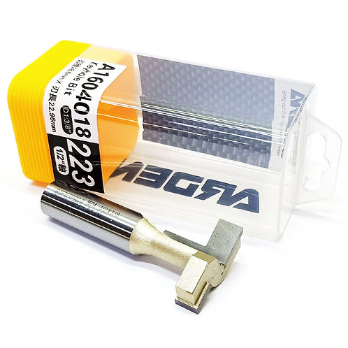 "#223 1/2""x3/8""x22.96mm Arden Keyhole Bit"