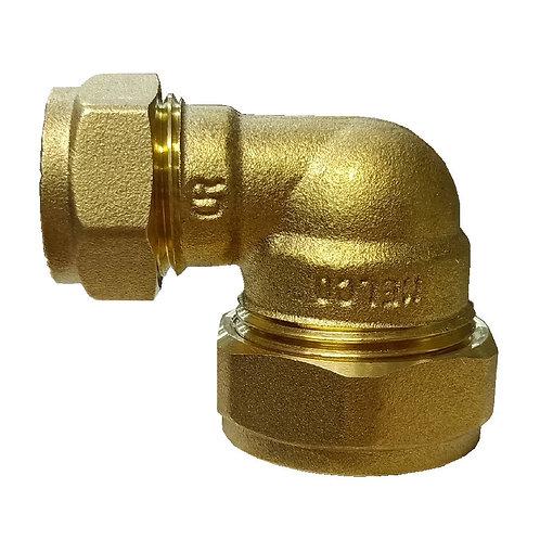 5023 22x15mm Brass CxC Elbow