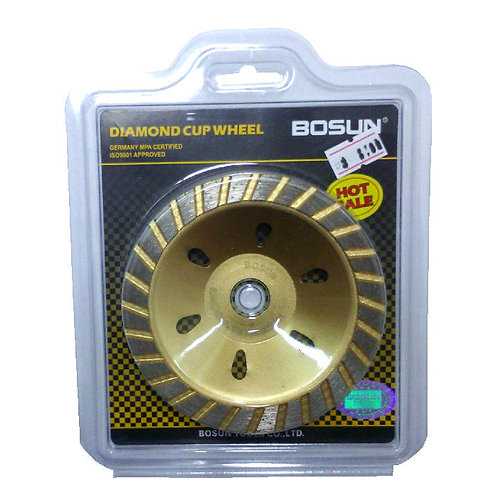Bosun Diamond Cup Wheel Gold