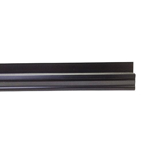 Steve & Leif SL-251 Door Bottom Flipper Sweep Black 1200mm