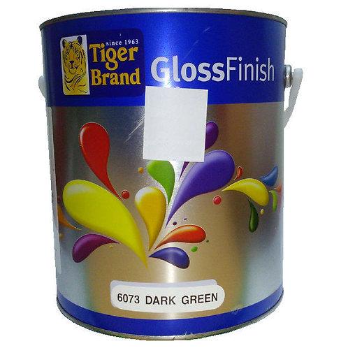 Tiger Brand GlossFinish 6073 Dark Green 3.5L