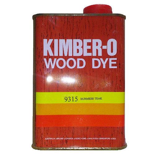 KIMBER-O Wood Dye 9315 Burmese Teak 1L