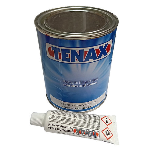 Tenax Marble and Stone Glue 1KG & Hardener 45ml