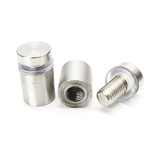 AHG19-25SS 25mm Advertisement Nut (Solid Spacer)