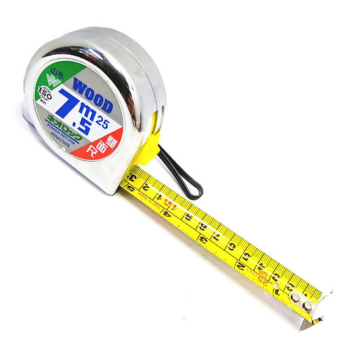 7.5mX25mm DC Wood Power Measuring Tape #7525