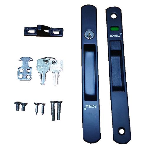 B6 Rowell Double-Plated Fastener C/W 2 STD Keys -BK
