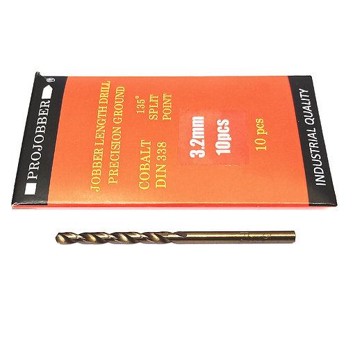 Projobber Cobalt Drill 3.20mm