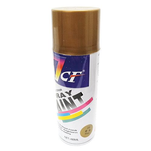 7CF 35 Gold Spray Paint 400ml