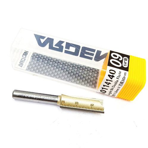 #9 1/4''x11.5mmx30mm Arden Straight Bit Double Flute