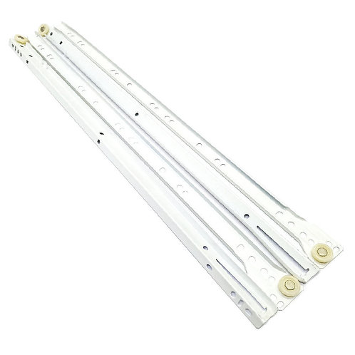 """24"""" #604 White Drawer Slide"""