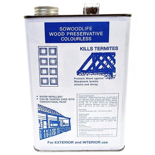 SOWOODLIFE Wood Preservative Colourless 4L