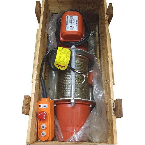 DUKE Electric Winch DU-210 AC230V 1PH Load 500KG
