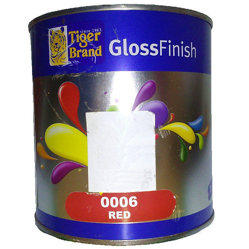 Tiger Brand GlossFinish 0006 Red 1L