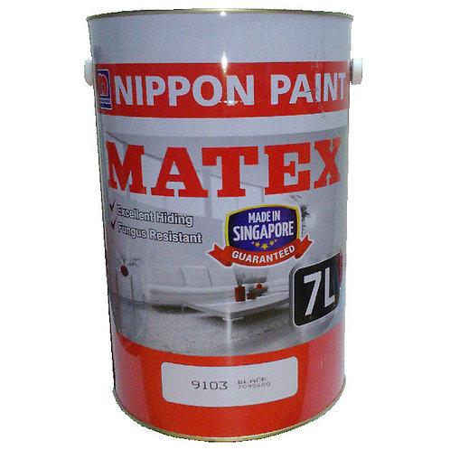 Nippon Paint Matex 9103 Black 7L