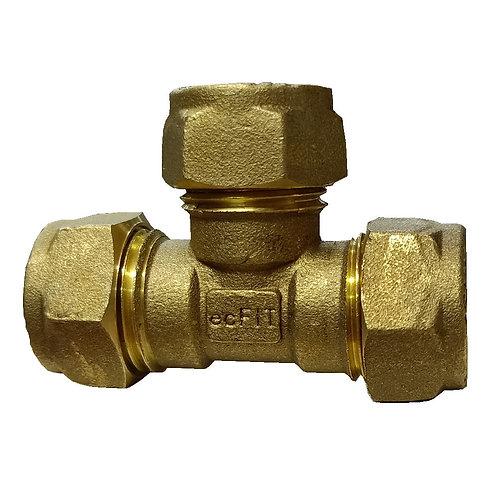 5041 15x15x15mm Brass CxCxC Tee