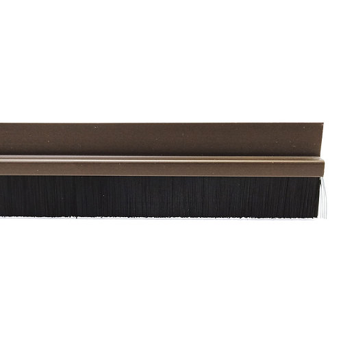 Steve & Leif SL-208 Door Bottom Brush Brown 1000mm