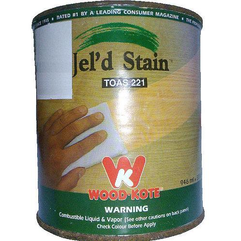 Jel'd Stain Toas 221 Wood Kote 946 ml