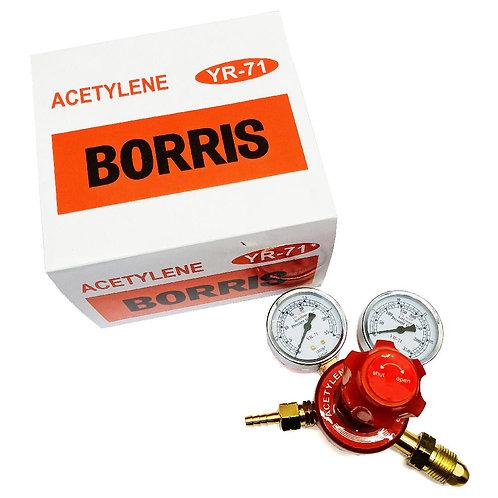 Borris YR-71 Regulator Acetylene