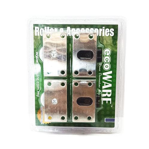 #388 SS Heavy Duty Roller DR-SD388-DIY (2-Door per Set)
