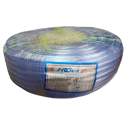 Clear Hose Red Wheel PVC 1/2''X1.5mmX50m