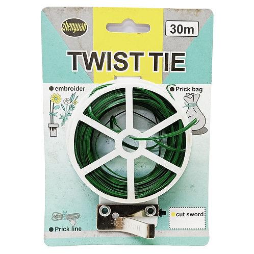 30M (100FT) Twist Tie TW (Green)