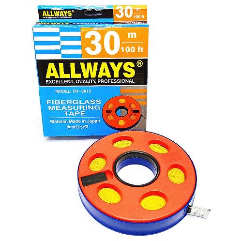 Allways 30m (100') Fiberglass Tape FR-3013 JP