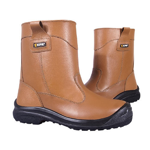 KPR High Cut Brown Rigger Safety Boots L805