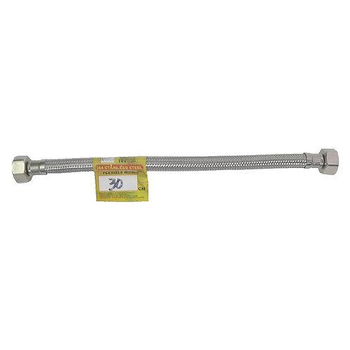 00653 Braided Flexible Hose SS 30cm 12''