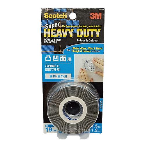 3M Scotch KH-19 Double-Sided Foam Tape 19mm by 1.5m Heavy Duty