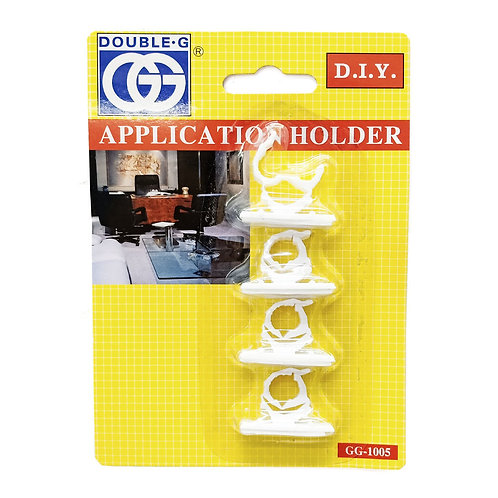 GG-1005 Handy Cable Clip White (4PCS)