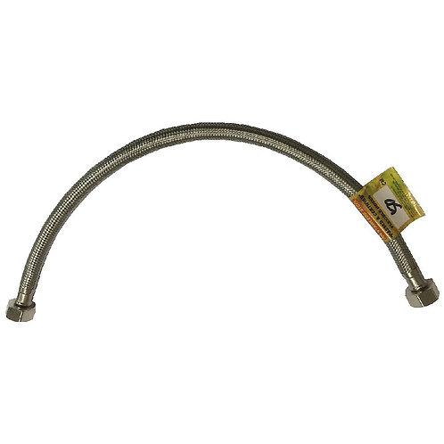 00657 Braided Flexible Hose SS 50cm 20''