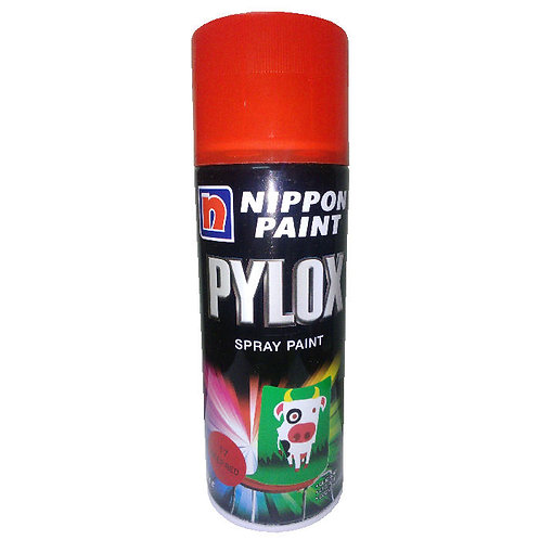 Nippon Paint Pylox Spray Paint 17 Deep Red 400CC