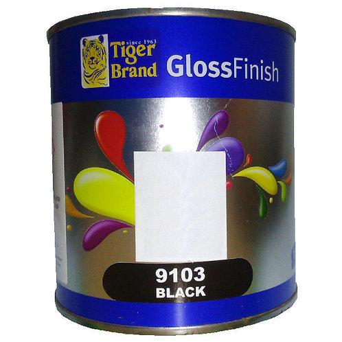 Tiger Brand GlossFinish 9103 Black 1L