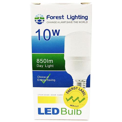Forest Lighting 10W Led Bulb Day Light E27 850lm 6500K