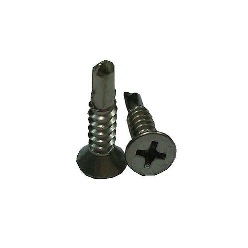 "CSK Self Drilling Screws 8x3/4"" 410 SS"