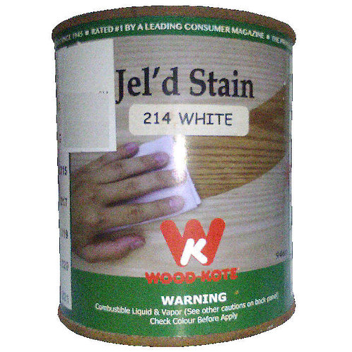Jel'd Stain White 214 Wood Kote 946 ml