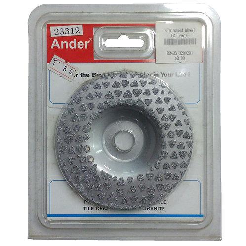 Ander Professional Diamond Blade 4'' Wheel Tile, Ceramic, Marble, Granite