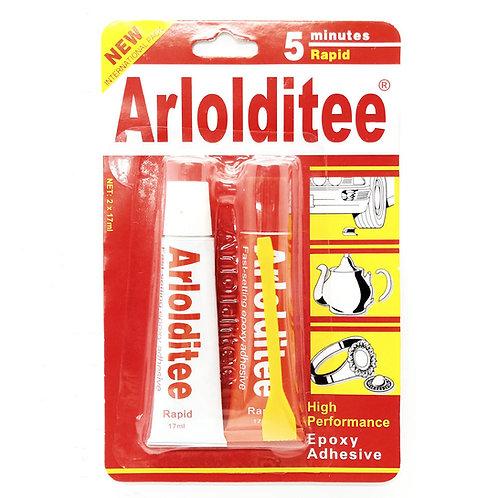 Arlolditee 5 Minutes Rapid Epoxy Adhesive 2 x 17ml