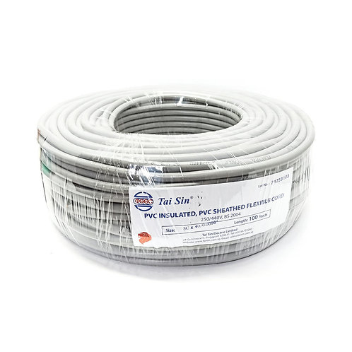 """3C x 40/0.0076"""" PVC Insulated Cable (100yards)"""